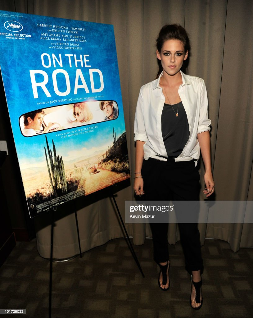 Kristen Stewart attends 'On The Road' New York Screening at Disney Park Avenue on September 10, 2012 in New York City.
