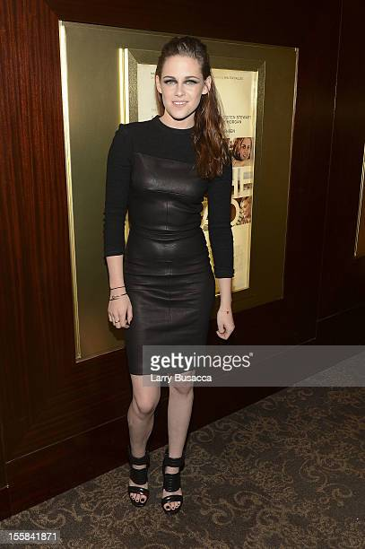 Kristen Stewart attends On The Road New York Screening on November 8 2012 in New York United States