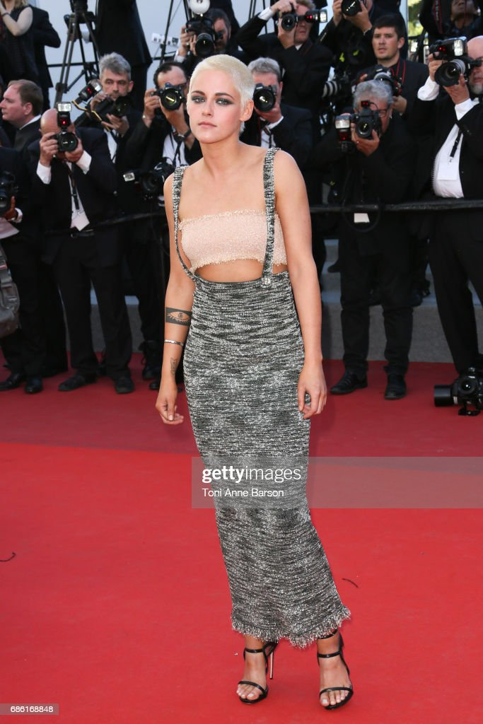 Kristen Stewart attends the '120 Battements Par Minutes (120 Beats Per Minute)' screening during the 70th annual Cannes Film Festival at Palais des Festivals on May 20, 2017 in Cannes, France.