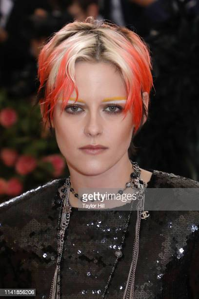 "Kristen Stewart attends the 2019 Met Gala celebrating ""Camp: Notes on Fashion"" at The Metropolitan Museum of Art on May 6, 2019 in New York City."