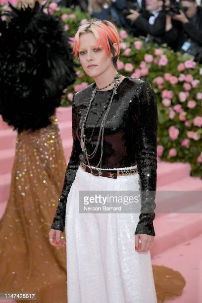 Kristen Stewart attends The 2019 Met Gala Celebrating Camp: Notes on Fashion at Metropolitan Museum of Art on May 06, 2019 in New York City.