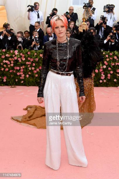 Kristen Stewart attends The 2019 Met Gala Celebrating Camp Notes on Fashion at Metropolitan Museum of Art on May 06 2019 in New York City