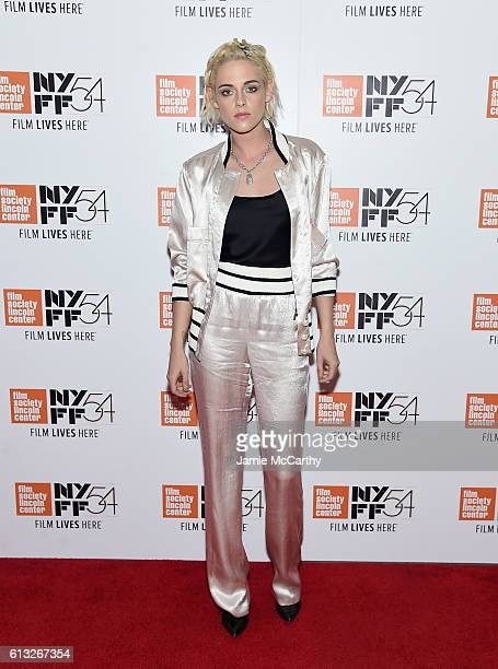 Kristen Stewart attends the 54th New York Film Festival 'Personal Shopper' Intro and QA at Alice Tully Hall on October 7 2016 in New York City