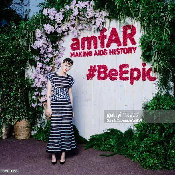 Kristen Stewart attends the amfAR Gala Cannes 2018 Studio at Hotel du Cap-Eden-Roc on May 17, 2018 in Cap d'Antibes, France.