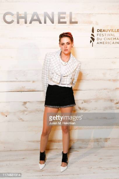 Kristen Stewart attends the Chanel And Madame Figaro Dinner In Honor Of The 45th Anniversary Of The Festival Of American Cinema on September 13, 2019...