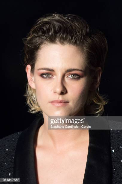 Kristen Stewart attends the Chanel Cruise 2018/2019 Collection at Le Grand Palais on May 3 2018 in Paris France
