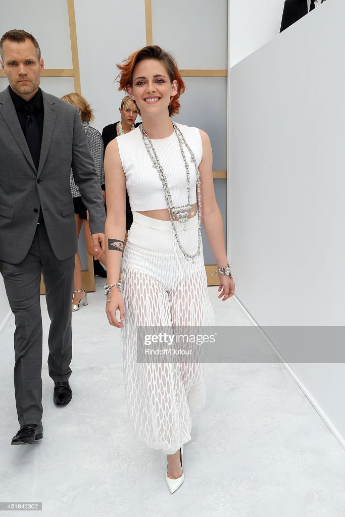 Chanel  : Front Row - Paris Fashion Week : Haute Couture Fall/Winter 2014-2015 : News Photo