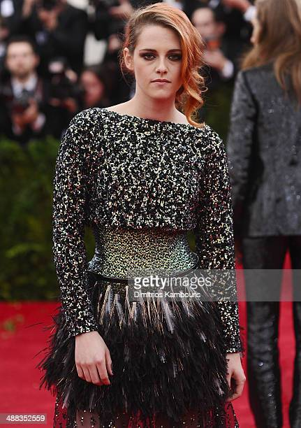 Kristen Stewart attends the 'Charles James Beyond Fashion' Costume Institute Gala at the Metropolitan Museum of Art on May 5 2014 in New York City