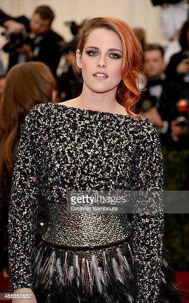 """Kristen Stewart attends the """"Charles James: Beyond Fashion"""" Costume Institute Gala at the Metropolitan Museum of Art on May 5, 2014 in New York City."""