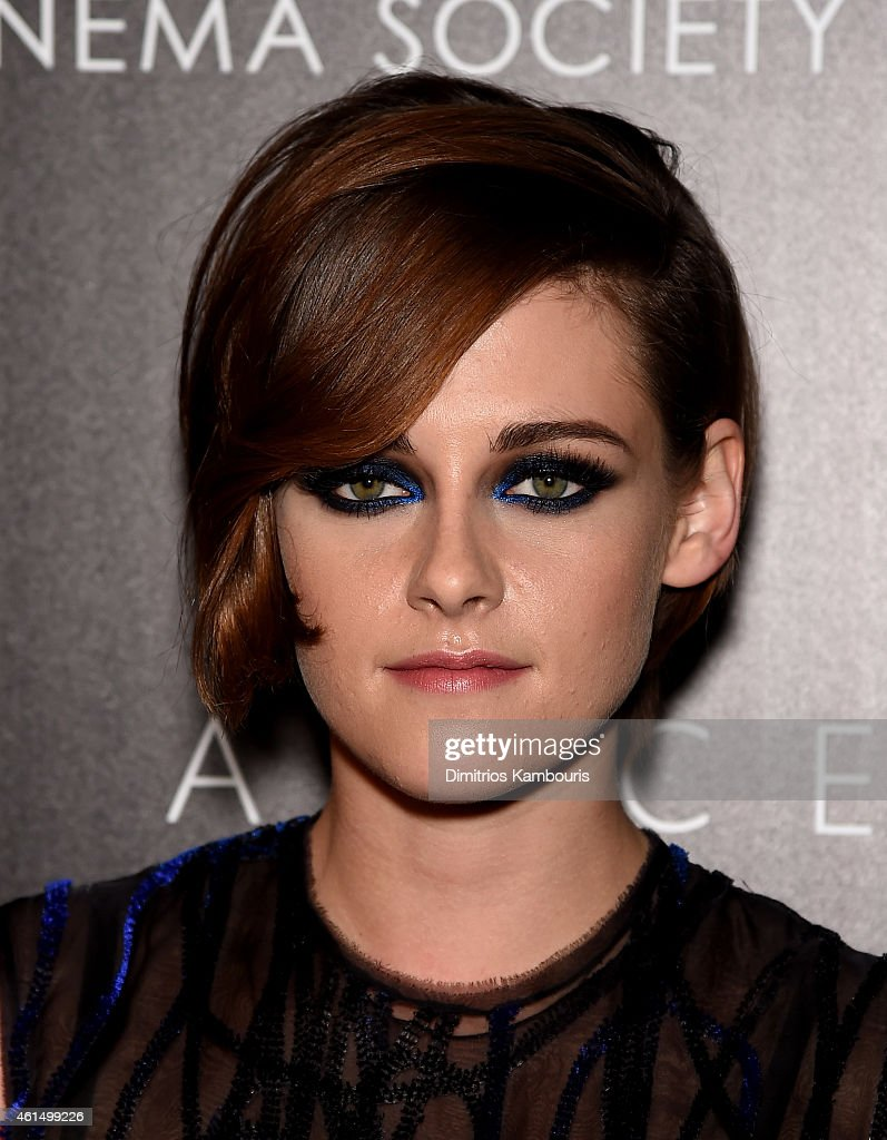 Kristen Stewart attends The Cinema Society with Montblanc and Dom Perignon screening of Sony Pictures Classics' 'Still Alice' at Landmark's Sunshine Cinema on January 13, 2015 in New York City.