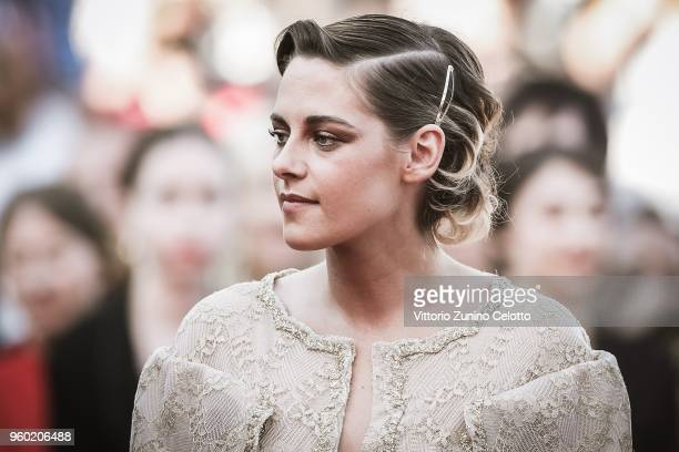 Kristen Stewart attends the Closing Ceremony & screening of 'The Man Who Killed Don Quixote' during the 71st annual Cannes Film Festival at Palais...
