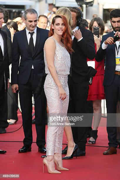 """Kristen Stewart attends the """"Clouds Of Sils Maria"""" premiere at the 67th Annual Cannes Film Festival on May 23, 2014 in Cannes, France."""