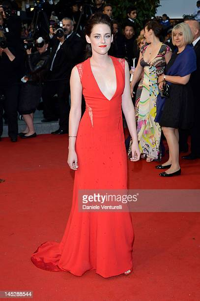 Kristen Stewart attends the 'Cosmopolis' Premiere during the 65th Annual Cannes Film Festival at Palais des Festivals on May 25 2012 in Cannes France