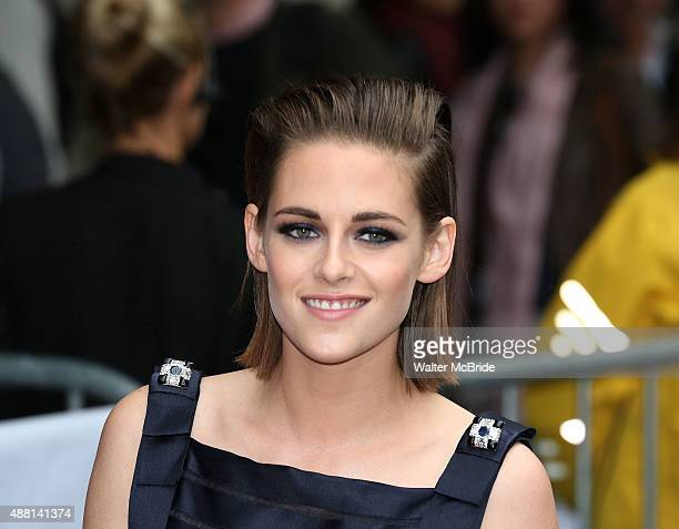 Kristen Stewart attends the 'Equals' premiere during the 2015 Toronto International Film Festival at the Princess of Wales Theatre on September 13...