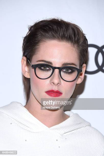 Kristen Stewart attends the Film Independent at LACMA screening and QA of 'Personal Shopper' at Bing Theatre at LACMA on March 6 2017 in Los Angeles...