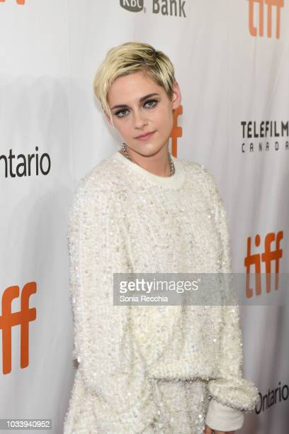 Kristen Stewart attends the 'Jeremiah Terminator LeRoy' Premiere during 2018 Toronto International Film Festival at Roy Thomson Hall on September 15...