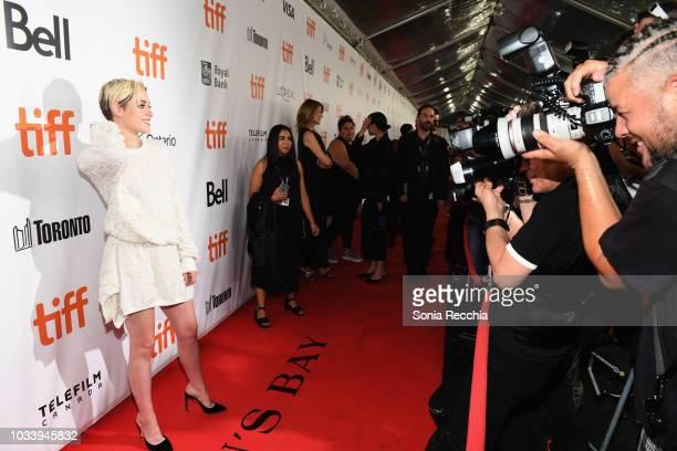 Kristen Stewart attends the 'Jeremiah Terminator LeRoy' Premiere during 2018 Toronto International Film Festival at Roy Thomson Hall on September 15...