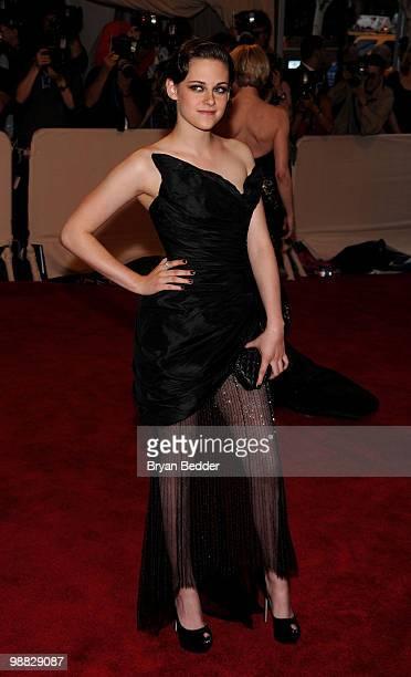 Kristen Stewart attends the Metropolitan Museum of Art's 2010 Costume Institute Ball at The Metropolitan Museum of Art on May 3, 2010 in New York...