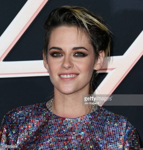 """Kristen Stewart attends the premiere of Columbia Pictures' """"Charlie's Angels"""" at Westwood Regency Theater on November 11, 2019 in Los Angeles,..."""