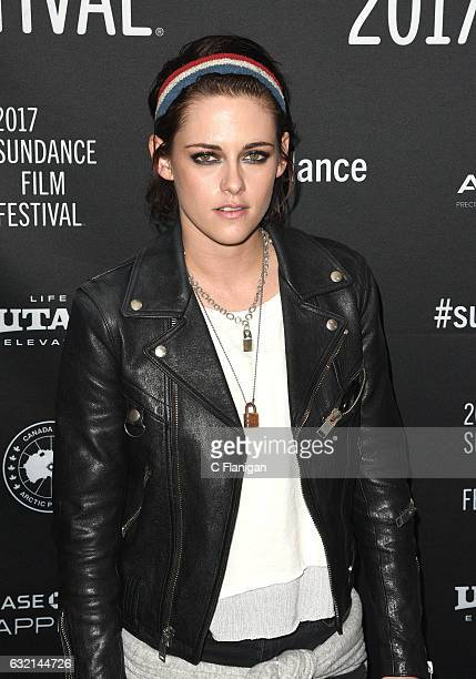 Kristen Stewart attends the premiere of her film 'Come Swim' at Prospector Theatre during the 2017 Sundance Film Festival on January 19 2017 in Park...