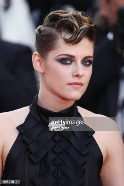 Kristen Stewart attends the screening of Everybody Knows and the opening gala during the 71st annual Cannes Film Festival at Palais des Festivals on...