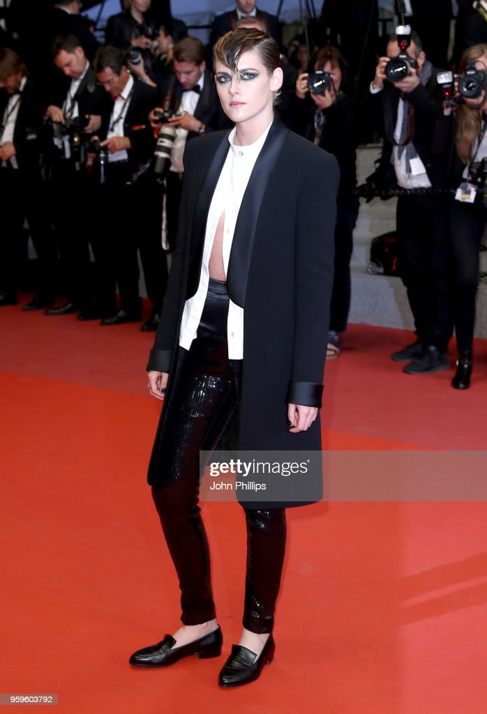 """Knife + Heart "" Red Carpet Arrivals - The 71st Annual Cannes Film Festival"