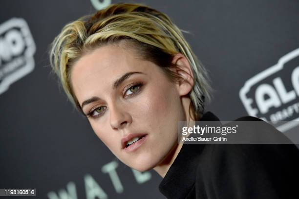 "Kristen Stewart attends the Special Fan Screening of 20th Century Fox's ""Underwater"" at Alamo Drafthouse Cinema on January 07, 2020 in Los Angeles,..."