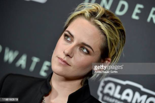 Kristen Stewart attends the Special Fan Screening of 20th Century Fox's Underwater at Alamo Drafthouse Cinema on January 07 2020 in Los Angeles...