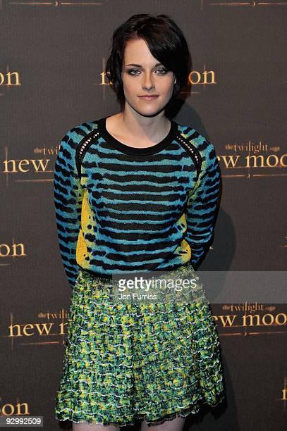 Kristen Stewart attends The Twilight Saga New Moon UK fan event at Battersea Evolution on November 10 2009 in London England