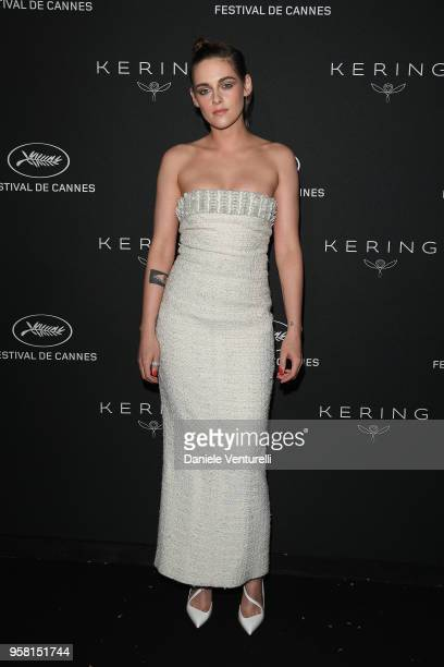 Kristen Stewart attends the Women in Motion Awards Dinner presented by Kering and the 71th Cannes Film Festival at Place de la Castre on May 13 2018...