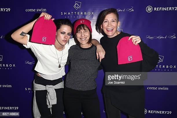 Kristen Stewart Director Arts Entertainment Planned Parenthood Caren Spruch and Amy Emmerich attend Refinery29 and Beachside's World Premiere of...