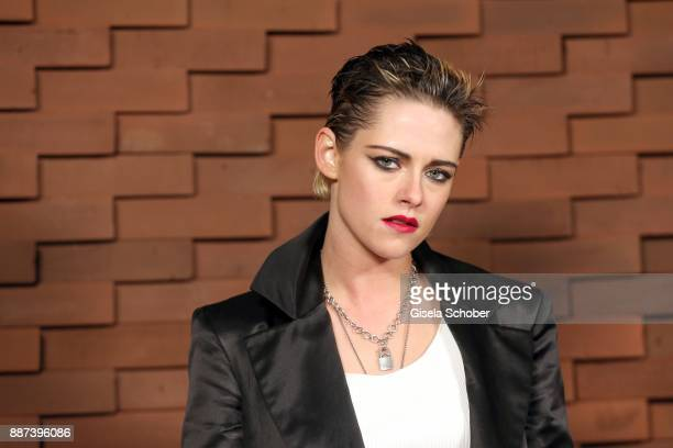 Kristen Stewart during the Chanel 'Trombinoscope' Collection des Metiers d'Art 2017/18 photo call at Elbphilharmonie on December 6 2017 in Hamburg...