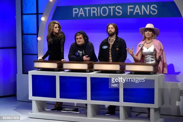 LIVE 'Kristen Stewart' Episode 1717 Pictured Host Kristen Stewart as Gisele Bündchen Bobby Moynihan as Bill Belichick Alex Moffat as Casey Affleck...
