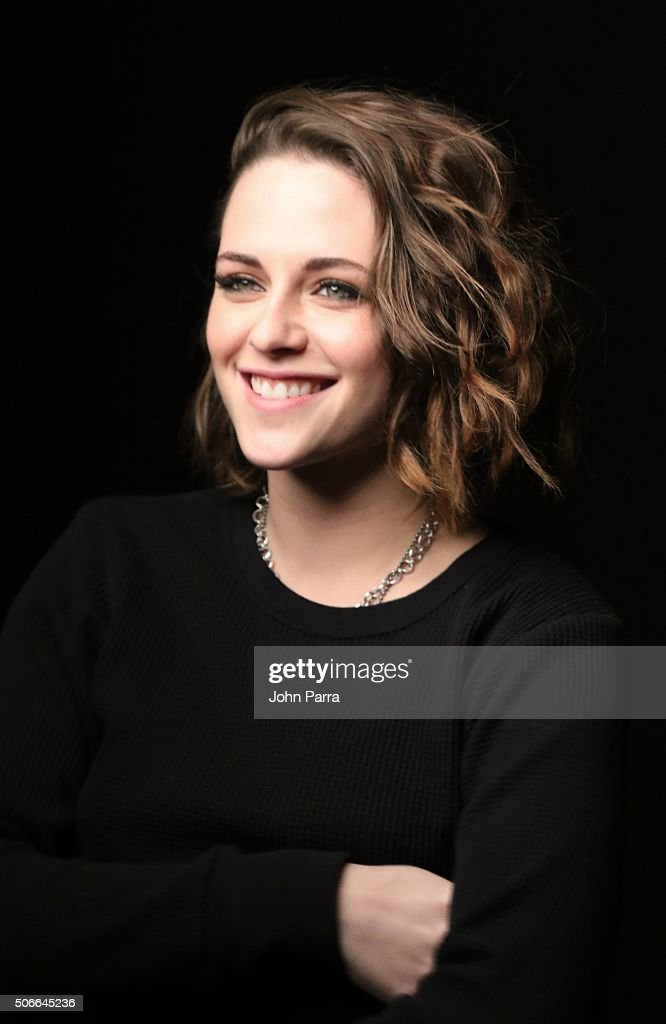 Kristen Stewart from the film ''Certain Women' posed for a portrait during The Hollywood Reporter 2016 Sundance Studio At Rock & Reilly's - Day 3 - 2016 Park Cityon January 24, 2016 in Park City, Utah.