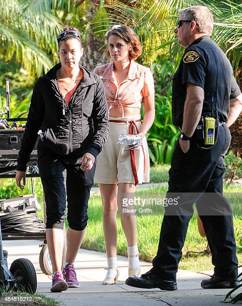 Kristen Stewart is seen on August 21 2015 in Los Angeles California