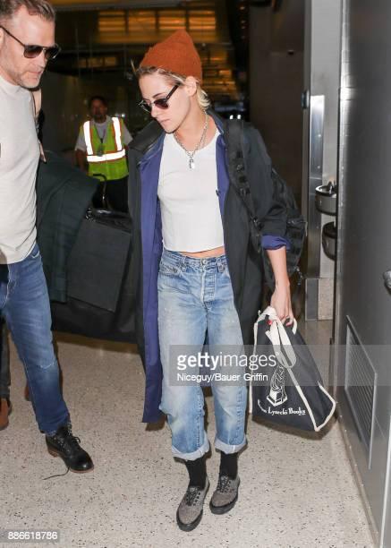 Kristen Stewart is seen on December 05 2017 in Los Angeles California