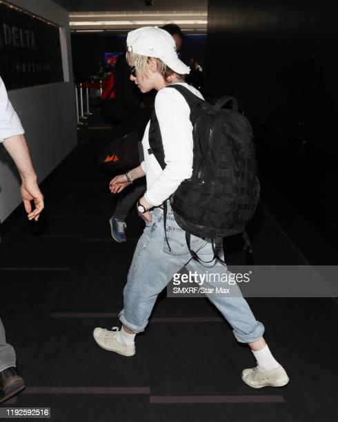 Kristen Stewart is seen on January 8 2020 in Los Angeles California