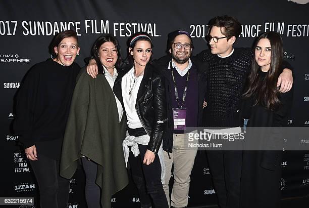 Kristen Stewart Josh Kaye and Sydney Lopez attends the Short program 1 during day 1 of the 2017 Sundance Film Festival at Prospector Square on...