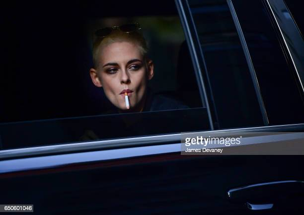 Kristen Stewart seen on the streets of Manhattan on March 9 2017 in New York City