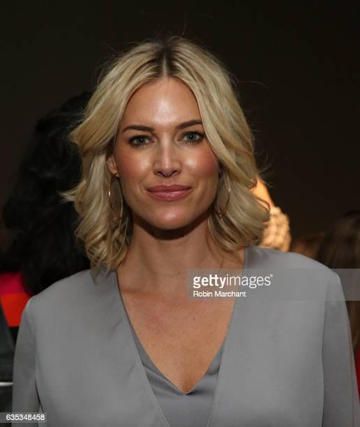 Kristen Taekman attends Carmen Marc Valvo during New York Fashion Week on February 14 2017 in New York City