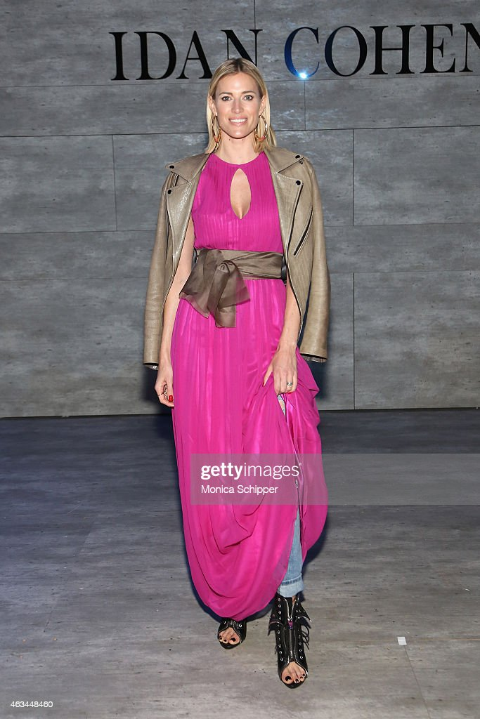 Kristen Taekman attends the Idan Cohen fashion show during Mercedes-Benz Fashion Week Fall 2015 at The Pavilion at Lincoln Center on February 14, 2015 in New York City.