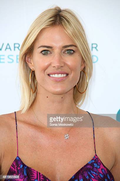 Kristen Taekman attends the Ovarian Cancer Research Fund's Super Saturday NY at Nova's Ark Project on July 25 2015 in Water Mill New York