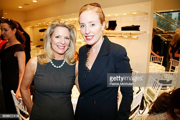 Kristen Thompson and Amy Hoadley attend LUCA LUCA and Lisa Hoenshell Boone Host An Exclusive Luncheon For Breast Cancer Awareness at LUCA LUCA on...