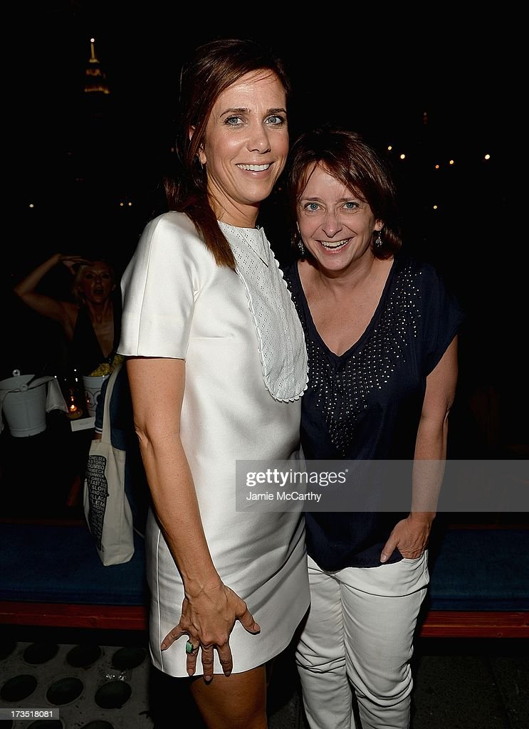 Kristen Wiig and Rachel Dratch attend The Cinema Society & Brooks Brothers Host A Screening Of Lionsgate And Roadside Attractions' 'Girl Most Likely' After Party at Hotel Americano on July 15, 2013 in New York City.