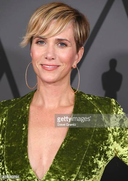 Kristen Wiig arrives at the Academy Of Motion Picture Arts And Sciences' 9th Annual Governors Awards at The Ray Dolby Ballroom at Hollywood Highland...