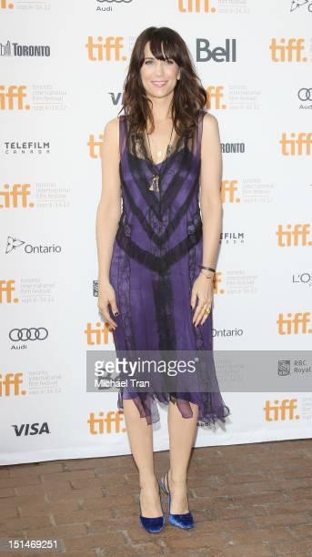 Kristen Wiig arrives at the 'Imogene' premiere during the 2012 Toronto International Film Festival held at Ryerson Theatre on September 7 2012 in...