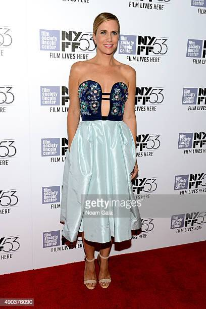 Kristen Wiig attends the 53rd New York Film Festival 'The Martian' Premiere Red Carpet at Alice Tully Hall on September 27 2015 in New York City