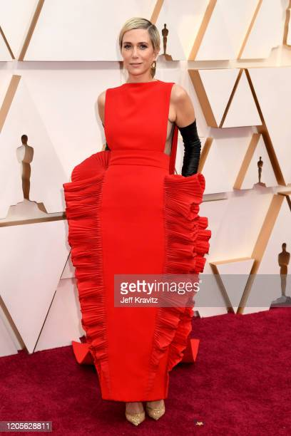 Kristen Wiig attends the 92nd Annual Academy Awards at Hollywood and Highland on February 09 2020 in Hollywood California