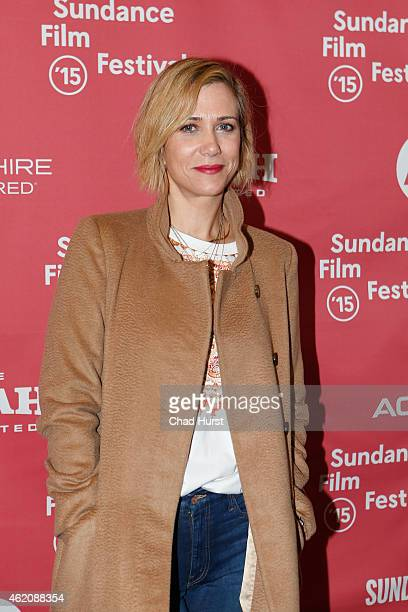 Kristen Wiig attends 'The Diary Of A Teenage Girl' premiere during the 2015 Sundance Film Festival on January 24 2015 in Park City Utah