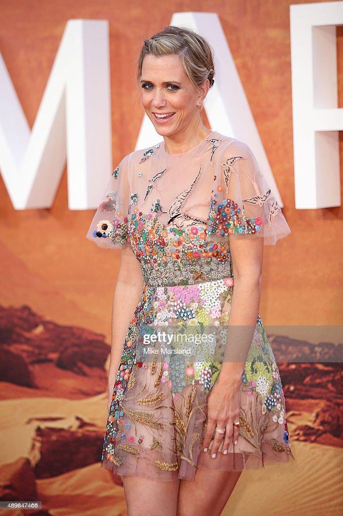 """""""The Martian"""" - European Premiere - Red Carpet Arrivals"""